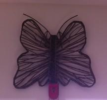 Straw butterfly